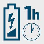 čas nabitia akumulátora: 1 hod.